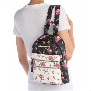 Betsey Johnson Backpack / Floral / NWT
